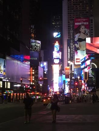Times Square craziness