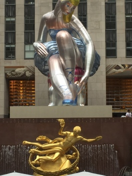 A Jeff Koons addition
